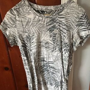 Aeropostale Gray Palm Tee